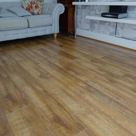 cheap living room laminate flooring case study in merseyside