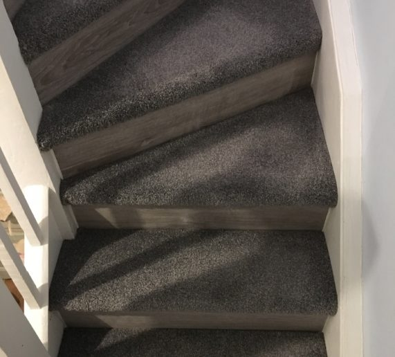 wirral staircase covering from Merseyside carpet warehouse