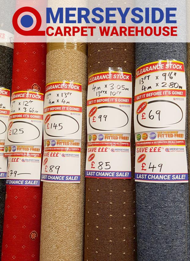 cheap carpet deal supplier merseyside