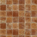 Pretty Queens Boston Terracota Vinyl Tile Flooring