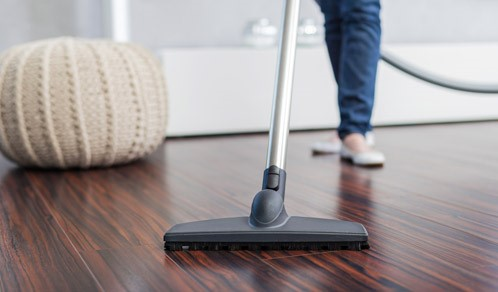 Liverpool vacuum cleaning laminate flooring from Merseyside carpet warehouse